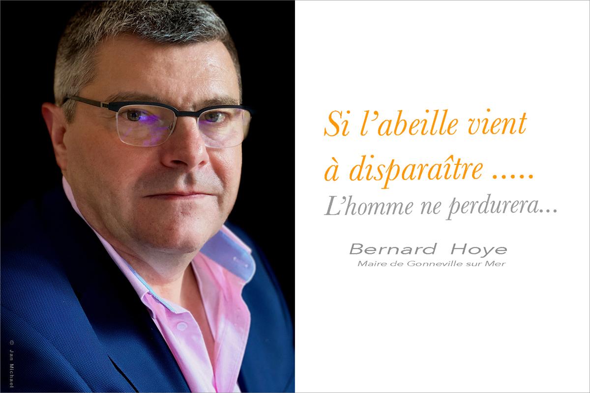 Bernard Hoye, Maire de Gonneville sur Mer