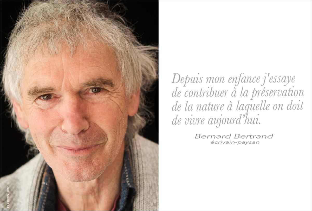 Bernard Bertrand, apiculteur naturel