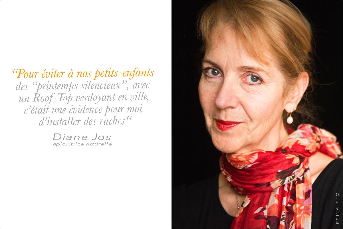 Diane Jos, apicultrice naturelle