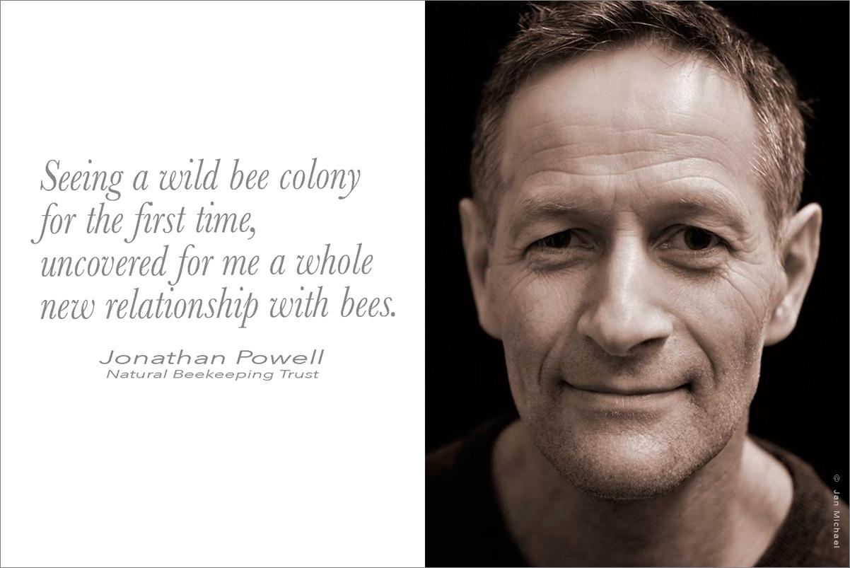 Jonathan Powell, bee advocate
