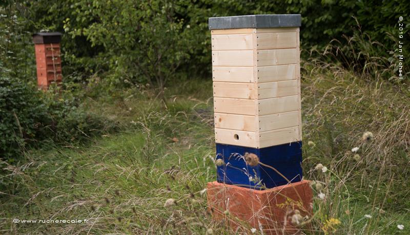 La Tour Warré - ruche alternative