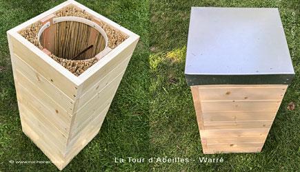 stage fabrique une ruche Warré alternativ